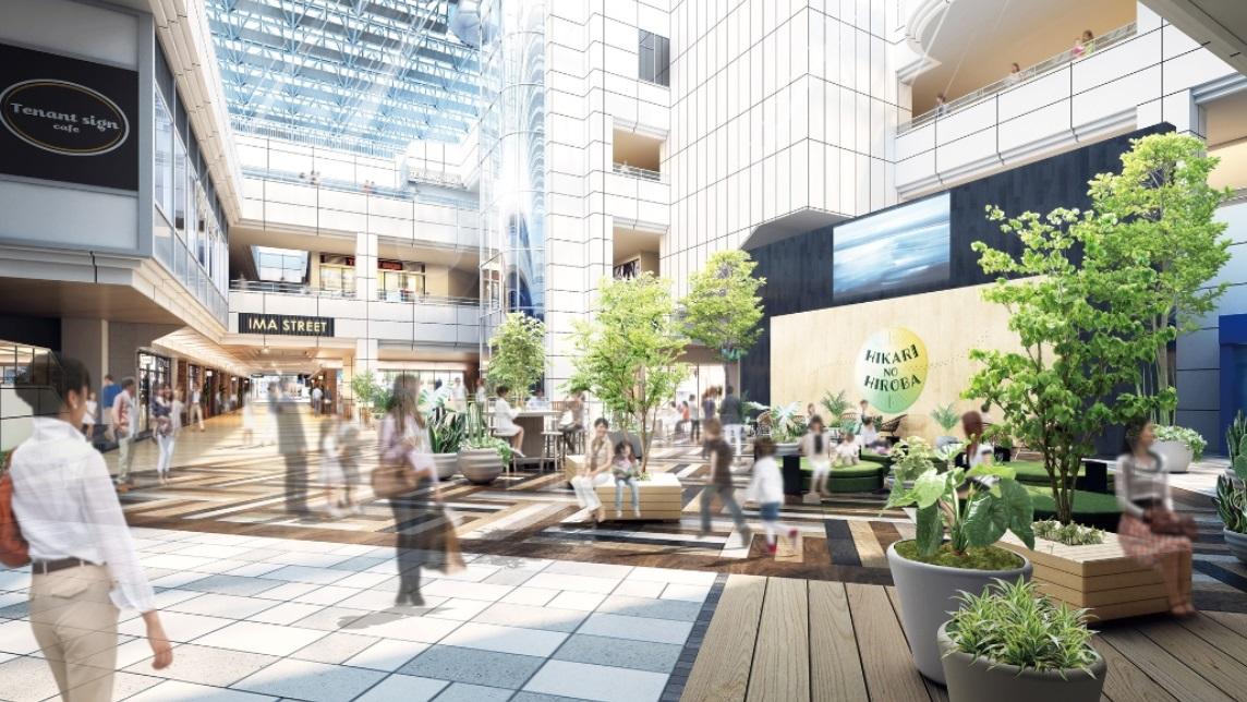 光が丘最大規模のショッピングセンター「光が丘IMA」
