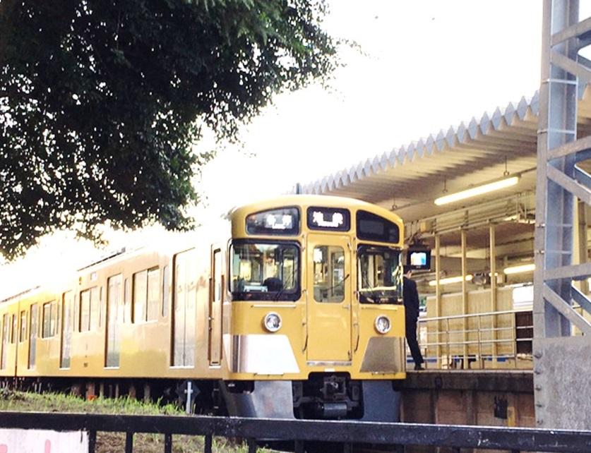 豊島園駅(西武豊島線)の電車