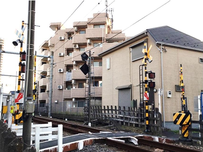 豊島園駅(西武豊島線)のふみきり